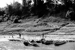 Change is Nothing (DEARTH !) Tags: mekong laos southeastasia blackandwhite lao dearth lifeonthemekong slowboat mekongriver travel sainyabuliprovince la