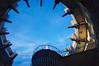 Wendeltreppe (luislessing) Tags: stairs stufen treppe wall mauer turm tower innen himmel wolken clouds geländer wendeltreppe zinnen holz stein aufgang aufstieg sky