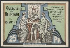 Neustadt in Holstein - 3/8 (NoeCR) Tags: notgeld alemania germany neustadtinholstein papelmoneda notafilia worldpapermoney emergencymoney dinerodeemergencia