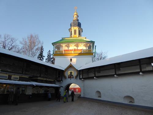 Свято-Успенский Псково-Печерский монастырь.