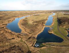 Castricum-Noordhollands duinreservaat (3) (de kist) Tags: kap thenetherlands nederland noordhollands duinreservaat castricum bakkum infiltratiegebied infiltratie drinkwaterwinning pwn duinen kust coast luchtfotografie aerialphotography