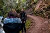 Poser-0220 (Sharp 4 Blurry Back) Tags: poser posing snapshot jacket scotland nature path water stream travel