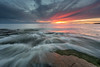 Lines_ (JLindroos) Tags: sun clouds colors rocks horizon seascape calm finland pori canon zeiss lee filters jlindroos