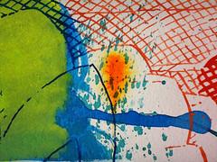 DSC0966903 (scott_waterman) Tags: ink watercolor gouache lotus lotusflower scottwaterman painting paper detail