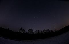 Night sky in Chzech Republic (Mayer Martin) Tags: europe czech night nightfoto nightsky stars siluette winter samyang 8mm f35 samyang8mmf35