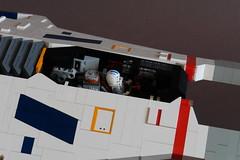 Hiigaran Light Interceptor - Cockpit Detail (Sydag) Tags: lego moc scifi space starfighter spacefighter homeworld