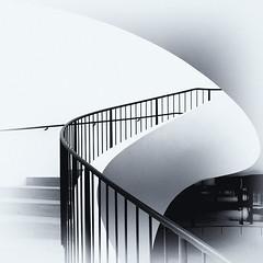 Twist (uneitzel) Tags: architecture architektur bw bannister curve elbphilharmonie elphi geländer hamburg lines linien mzuiko918mm olympusem5 schwarzweiss spiral square stairs stairway treppe treppenhaus twist monochrome