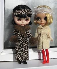 BaD:  3rd Feb 2017 - Fur (Calendar girl 48 / grannygreen) Tags: blythedolls lizzie twiggy badfeb2017 fur