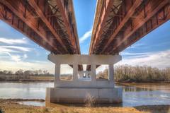 Curtis-Coleman Memorial Bridge 2017 14 HDR.psd (Jim Dollar) Tags: jimdollar curtiscolemanmemorialbridge bridges redriver alexandria fortrandolphandbuhlowstatehistoricpark louisiana la hdr