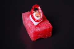 Watermelon Cube with Marinated Fetta© by Haalo