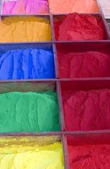 Paleta de colores Holi