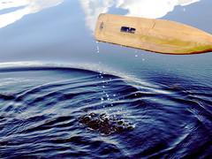 Oar 1 (John Wardell (Netinho)) Tags: park uk england cloud lake reflection water outside outdoors boat interestingness pond sheffield yorkshire 100v10f h2o boating rowing oar reflectionsof splash southyorkshire countrypark splish splosh rothervalley rothervalleycountrypark 3waychallenge 3wc 3waychallengewinnerh2o