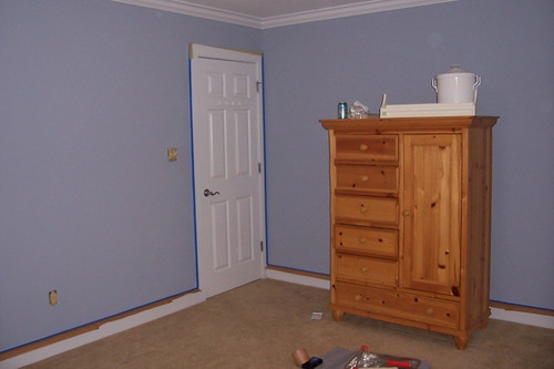 """Before"" Room and Armoire"