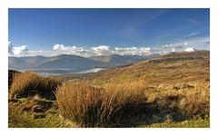 Conic Hill Panorama (KF ) Tags: scotland spring hill climbing lomond eos300d lochlomond hillwalking conichill spectacularlandscape