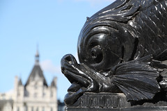 The Embankment (richardr) Tags: old city uk greatbritain england urban fish building london english heritage history lamp thames architecture europe european unitedkingdom britain dolphin historic british seamonster chimera embankment europeanunion historicalplaces mabey vulliamy
