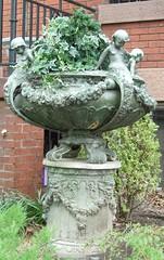 Urn with imps (Monceau) Tags: urn washingtondc planters imps