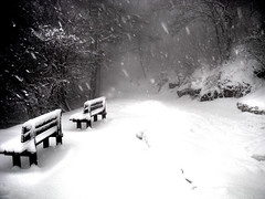 A short rest (angelocesare) Tags: italy snow mountains mrjackfrost bench topf50 italia explore rest lombardia flickrexplore inflickrexplore onflickrexplore angeloamboldiphotos