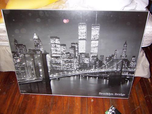 Brooklyn Bridge Framed Photo Print