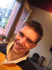 steve - post haircut (natala007) Tags: seattle haircut smile spiky tiger stephen lover stephensmith g00dhunter
