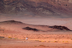Jordan - Wide expanses of Wadi Rum (CharlesFred) Tags: pink red orange wadirum charles jordan arabia favourites top20landscape favourite myfavourites 100000 twohundred roffey charlesfred charlesroffey twohundredfavourites