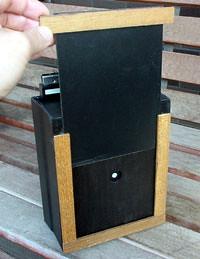 handmade pinhole camera