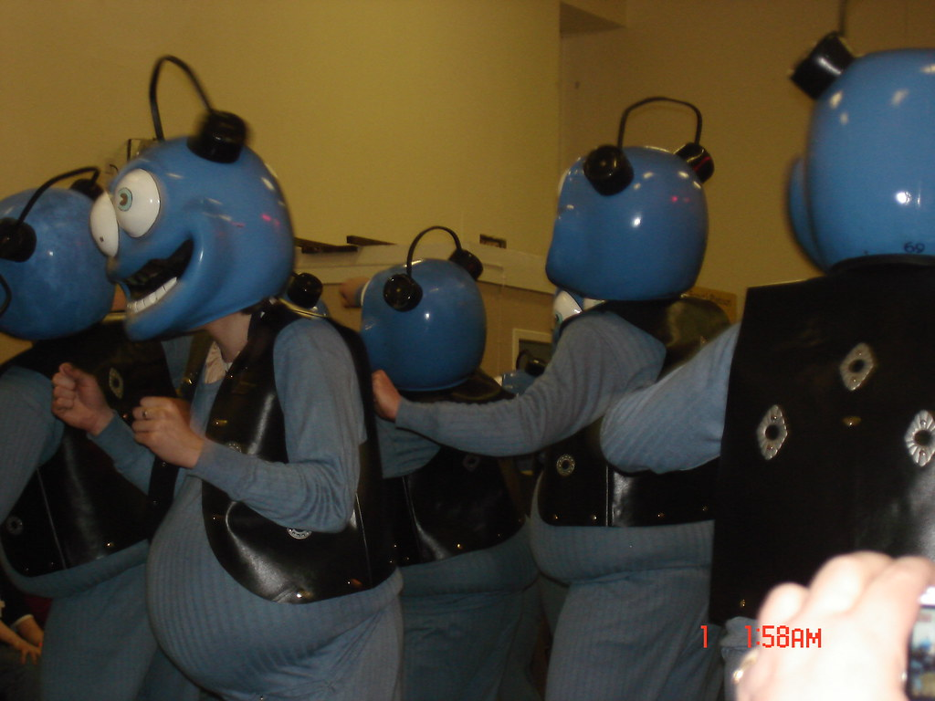 Crazy frogs party in Shetland