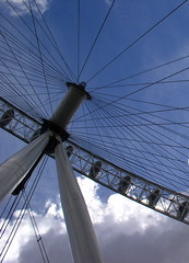 """London eye • <a style=""""font-size:0.8em;"""" href=""""http://www.flickr.com/photos/53627666@N00/107335348/"""" target=""""_blank"""">View on Flickr</a>"""