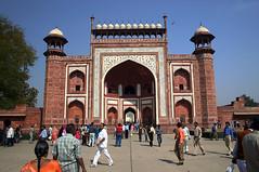 Taj Mahal entrance gate