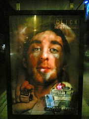 Saturated advertising (hugovk) Tags: cameraphone uk greatbritain winter england bus mobile advertising manchester march saturated unitedkingdom britain ad 2006 lifeblog busstop advertisement virgin stop advert buff 7610 backlit nokia7610 hvk effect lynx totally saturate northenden the virginmobile totallybuff thelynxeffect bbcmanchesterblog lynxeffect saturvising hugovk meta:exif=none saturatedadvertising