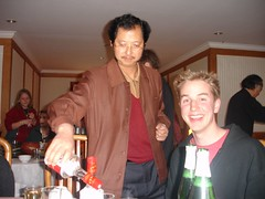 Burns Pouring Drinks (whitecloud) Tags: china peter burns jiu yunnan bai tonghai
