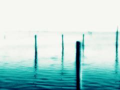 Silence (Ledio (mostly away)) Tags: blue bw lake sepia landscape dock dream abandon silence dreamy emptiness peisazh fshenderr ledioveseli