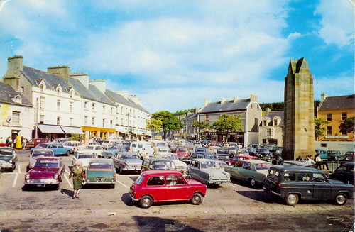 Donegal Town: The Diamond 1973