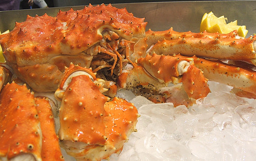 King Crab at the International Boston Seafood Show