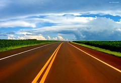 the highway is my home (Igor Alecsander Fotografia) Tags: road brazil sky green clouds rural wow countryside highway colorado 500v20f explore estrada viagem nuvens soybean agriculture ontheroad soja yerbamate 1500v60f 1000v40f tierracolorada abigfave 4000v190f 7000v315f 10000v380f