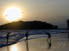 Sunset Beach, Krabi Thailand