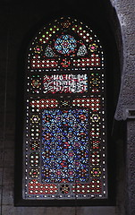 historical perspective in colour (phool 4  XC) Tags: glass egypt stainedglass mosque stained cairo 16thcentury   oldstone  alghuri phool4xc