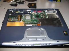 Laptop Base more (compumstr) Tags: hardware laptop solder laptoprepair laptoppowerjack supergeekblog