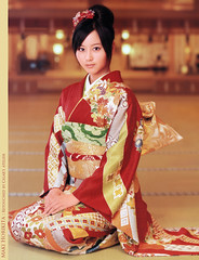 Maki Horikita : Actress (g2slp) Tags: girl japan japanese maki idol kawaii actress kimono giappone nobuta horikita