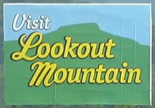 Lookout Mountain Billboard