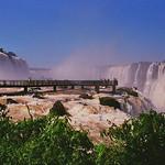 Iguazu Falls Footbridge, Argentina & Brazil