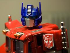Optimus Prime de frente