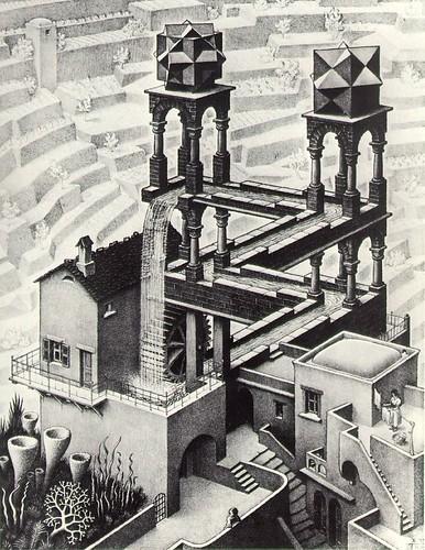 Escher Cascada