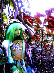 Quartz (orgXIIIorg) Tags: green leaves costume doll jin roots special dollfie ai multicolor customhouse bjds balljointeddolls
