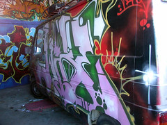 unknow van (Mystical Groundz) Tags: street streetart france art wall writing wow painting graffiti paint lyon painted spray loveit wicked fav van aerosol bombing comments commented rvi