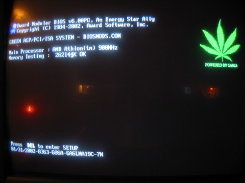 best...reboot...ever - A-Bit modified BIOS replaces EPA logo with pot leaf - 112-1288_IMG