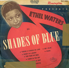 Remington 1025 (1950) (Bengallman) Tags: vinyl 1950 shadesofblue 10inch ethelwaters remingtonrecords remington1025