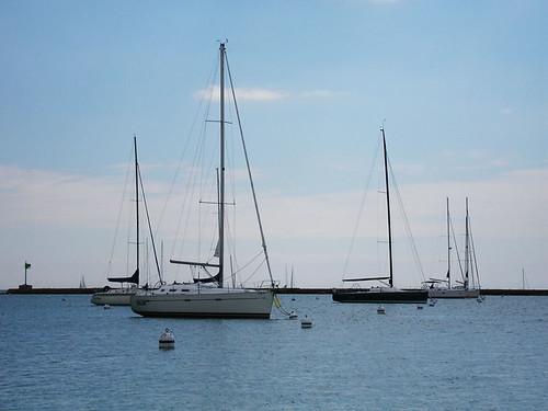 chicago sailboat harbor