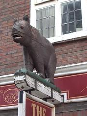 The Bear, Market Square (Hidden Horsham) Tags: bear architecture interesting westsussex secret visit hidden visitors horsham reveal marketsquare unnoticed francisfrith