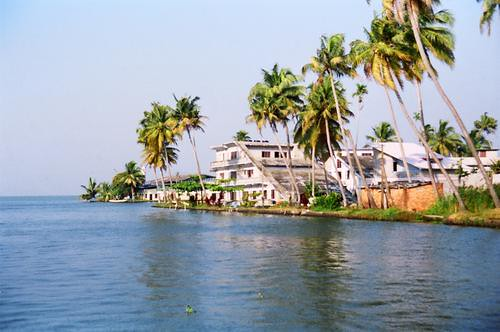 Backwaters at Alleppey