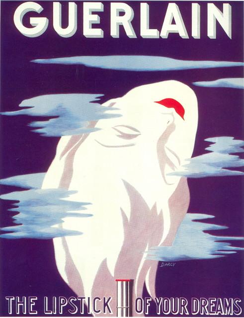 Guerlain Lispstick ad, 1938